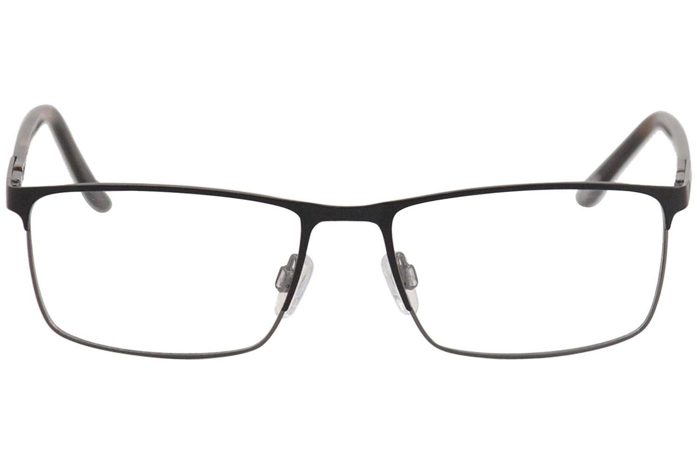 Jaguar Mens Eyeglasses 35051 6100 Black//Gunmetal Full Rim Optical Frame 56mm