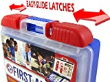 Be-Smart-Get-Prepared-100-Piece-First-Aid-Kit-Clean-Treat-and-Protect-most-injuries-with-the-kit-that-is-great-for-any-home-office-vehicle-camping-and-sports-071-Pound