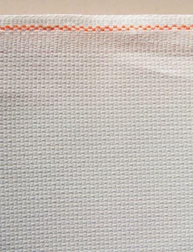 Fat Quarter 14 Count White Aida Cross Stitch Fabric 50cm x 55cm Zweigart