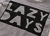 Baby Boys Girls Long Sleeve Lazy Days Printed