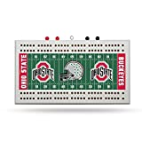 Ohio State Buckeyes Football 2-Track Cribbage Board