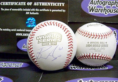- Bronson Arroyo autographed 2004 World Series Baseball