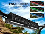 """BOSS Audio BRT27A 27"""" Sound Bar Audio System – Bluetooth, Weatherproof, Built-in Amplifier, for Use with ATV / UTV / SideXSide, Featuring RGB Lights"""