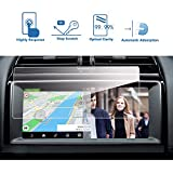 Jaguar F-PACE/XE 2017-2018 10.2-InchCar Navigation Screen Protector,LFOTPP [9H Hardness] Tempered Glass Center Touch Screen Protector Anti Scratch High Clarity