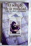 img - for Sentido de La Realidad, El (Spanish Edition) book / textbook / text book