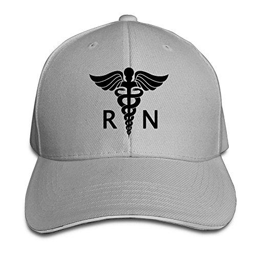 Registered Nurse Logo Casual Unisex Unstructured Cotton Cap Adjustable Baseball Hat Cap - Shopping Near Chicago
