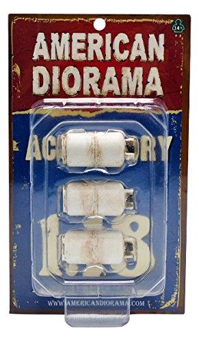 American Diorama 23980 Model Car Accessories Propane Tank 1:18 scale