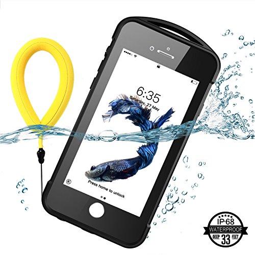 iPhone 7 plus/8 plus Waterproof Case, Temdan SUPREME Series Waterproof Case with Carabiner Built in Screen Protector Outdoor Rugged Shockproof Case for iPhone 7 plus and iPhone 8 plus(5.5 inch) by Temdan (Image #2)