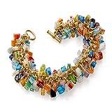 pricegems Murano Glass Millefiori Bracelet and Earrings 'Mystique of Venice Museum Store