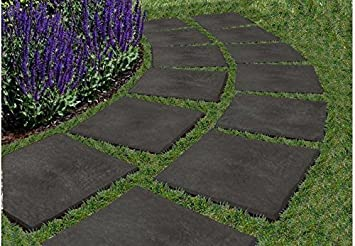 Merveilleux 10 X Garden Paving Slabs 12u0026quot; Stomp Stones Pathway Lawn Steps Walk  Decorative Border Ecotrend