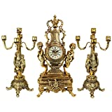 Design Toscano Inc Chateau Beaumont Grand Clock and Candelabra Ensemble