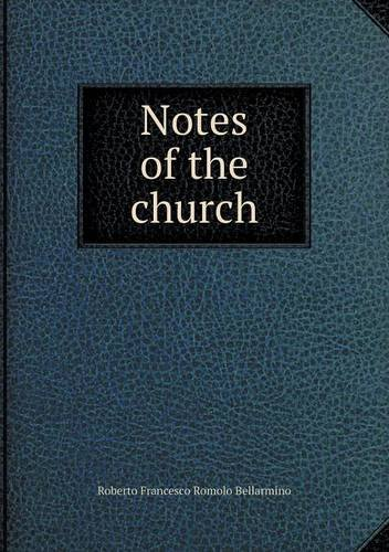 Download Notes of the church pdf epub