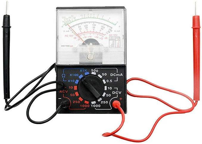 Qimao Analog Multimeter Spannung Elektrischer Strom Widerstandsmessgerät Gymnasium Physik Lehr Equipment Küche Haushalt