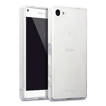 Terrapin-Carcasa Para Sony Xperia Z5 Funda Compact, Color Blanco