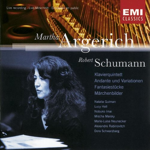 Schumann: Piano Quintet, Andante & Variations, Fantasiestucke; Martha Argerich by Warner Classics