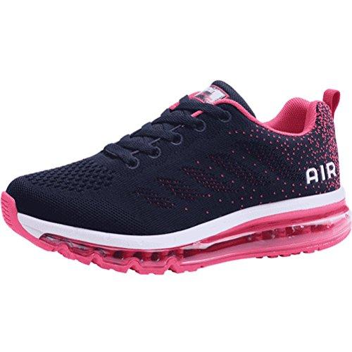 Des Sport Chaussures Running Bleu Athltique Formateurs Jogging Fitness Bety Femmes Hommes Multi Air Prune Absorption Pour Chocs Pwq0nFtx4A