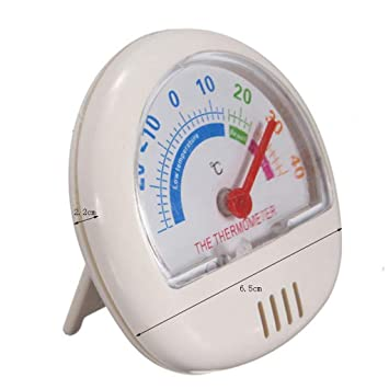 ZJJJK Medidor de temperatura del hogar Puntero de marcación ...