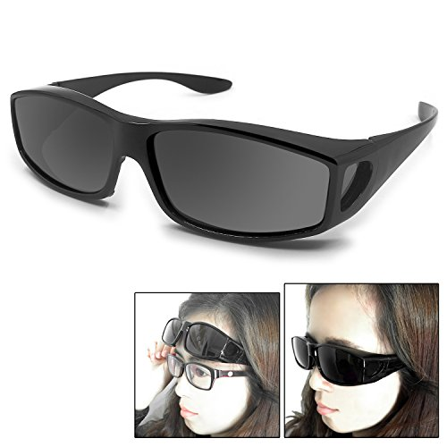 Fit Over Glasses Sunglasses Polarized Lenses Men Women/Wear Over Prescription Glasses Outdoor sports sunglasses UV400 - Sports Prescription Sunglasses