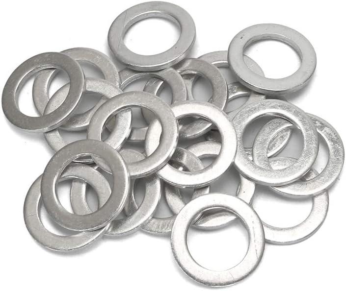 FANHAY 20 PCS Oil Crush Washers//Drain Plug Gaskets Washers Seals Rings 94109-14000 for Honda Civic Ridgeline Odyssey CRV CR-V Drain Plug Gaskets