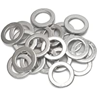 FANHAY 20 PCS Oil Crush Washers/Drain Plug Gaskets Washers Seals Rings 94109-14000 for Honda Civic Ridgeline Odyssey CRV…