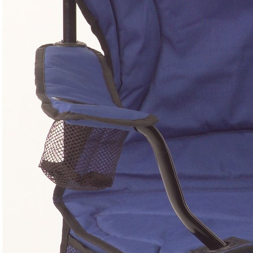 Coleman Cooler Quad Portable Camping Chair, Blue