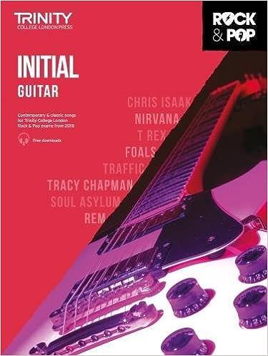 Trinity College London Rock & Pop 2018 Guitar Initial Grade CD ...
