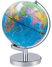 Verlichte Wereldbol, 2-in-1 Globe Earth en Constellations Ingebouwde LED Voor Verlicht Nachtzicht, 8-inch Educatieve Wereldbol Voor Cadeau-thuiskantoordecoratie