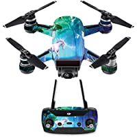 Skin for DJI Spark Mini Drone Combo - Unicorn Fantasy| MightySkins Protective, Durable, and Unique Vinyl Decal wrap cover | Easy To Apply, Remove, and Change Styles | Made in the USA