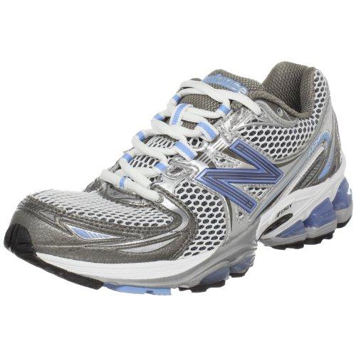 New Balance Women's WR1226 Running NBX Shoe,White/Blue,11 B US Nbx Stability Running Shoe