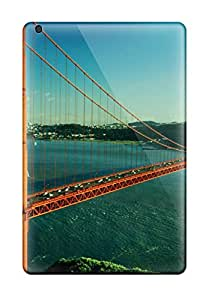 Sophia Cappelli's Shop 3444526J40561245 Ipad Mini 2 Case Bumper Tpu Skin Cover For Golden Gate Bridge Accessories