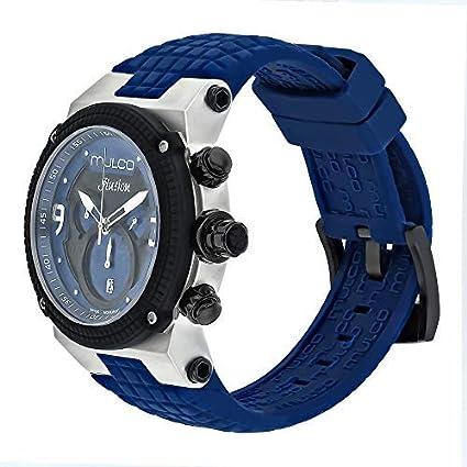 415 Ilusion Analog Unisex Swiss Mulco 12140 Display Blue Mw3 Quartz 0vNOynwm8
