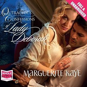 Outrageous Confessions of Lady Deborah Audiobook
