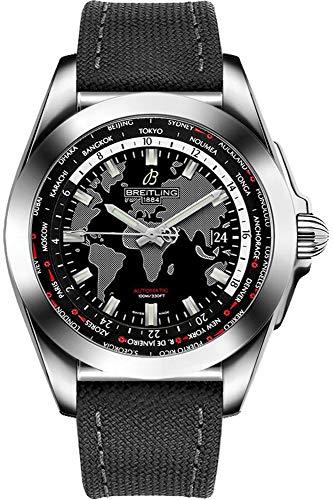 Breitling Galactic Unitime Trophy Black Men's Watch WB3510U4/BD94-109W