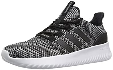sale retailer 084ef 03717 adidas NEO Womens Cloudfoam Ultimate W Sneaker,BLACKBLACKWHITE,5 Medium