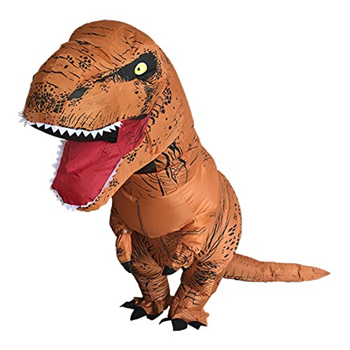 Inflatable T-Rex Costume Adult Dinosaur Halloween Fancy Dress (Dinosaur Costume Adults Realistic)