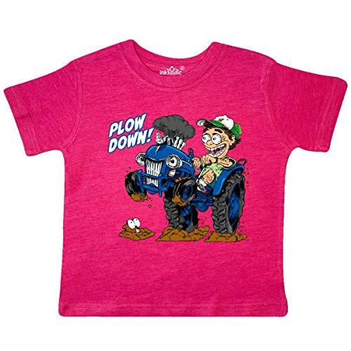 inktastic - Hot Roddin' Rod on a Toddler T-Shirt 3T Retro Heather Pink 3602d