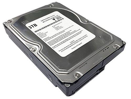 WL 3TB 7200RPM 64MB Cache SATA 6.0Gb/s 3.5'' Desktop Hard Drive (For Server, RAID, NAS, DVR, Desktop PC) w/1 Year Warranty