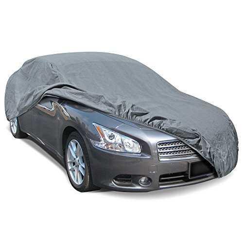 BDK Max Shield Car Cover for Nissan Maxima - UV Proof, Water Repellent, Paint Safe, Breathable