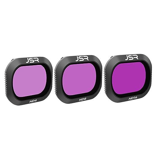 YVSoo 3Pcs ND Filtro de Lente para dji Mavic 2 Pro Drone - ND4 ND8 ND16 Filtro (3 Piezas): Amazon.es: Juguetes y juegos
