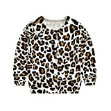 Product review for Goodluckclothes Kids Girls Cotton Cardigan Knitting Leopard Print Sweaters