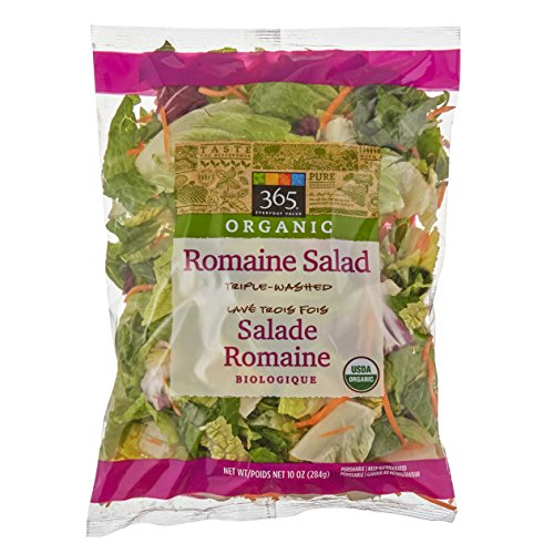 365 Everyday Value, Organic Romaine Salad, 10 oz