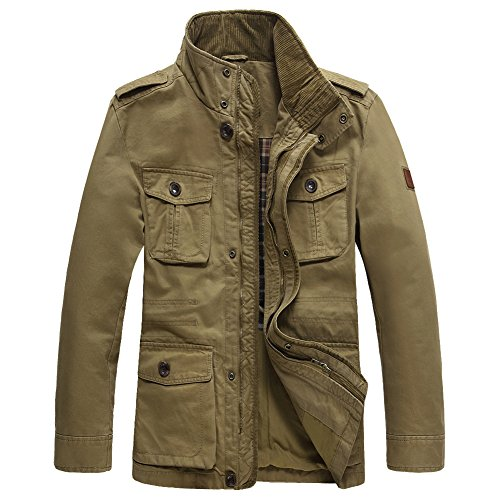 Casual Cotton Jackets - 2