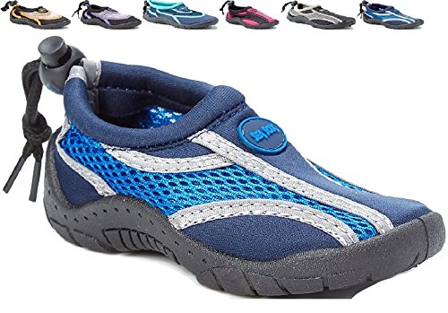 Children's Kids Water Shoes Aqua Socks Beach Pool Yoga Exerc