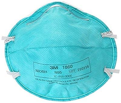 3M 1860 Medical Mask N95, 20 Count