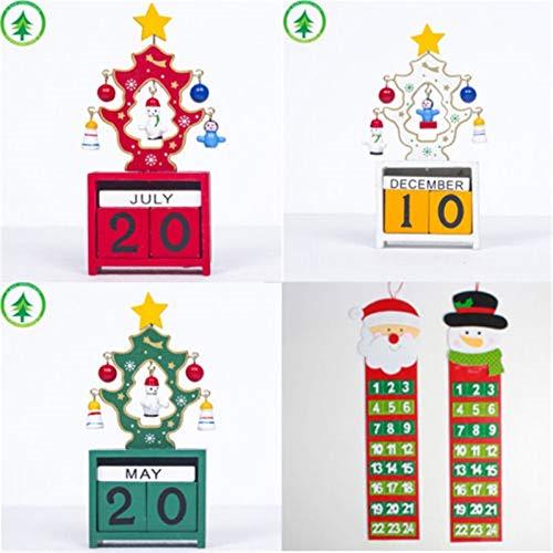 Advent Calendars - Brand Personalised Santa Christmas Advent Calendar Countdown Xmas Baby Gift Pocket Day - Adults 2019 Calendars Beauty Better Girls Jewelry Makeup Advent Socks Toys Chocol