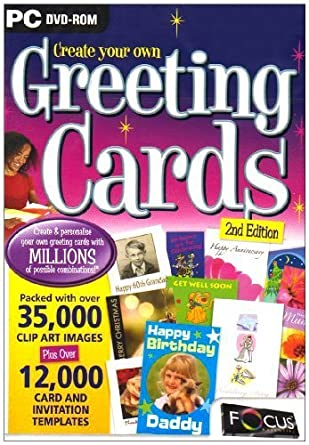 Amazon create your own greeting card second edition pc dvd create your own greeting card second edition pc dvd m4hsunfo Image collections