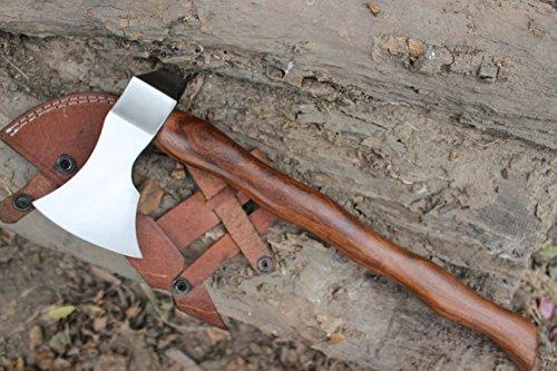 MOUNTAIN BAR HAND FORGED FROM 5160 STEEL HAWK TOMAHAWK AXE