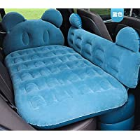 HWJK Opblaasbare Auto Air Mattrice Hoofdbord Kussens Luchtpomp Travel Air Bed SUV Universele Mattrice Draagbare Pvc…