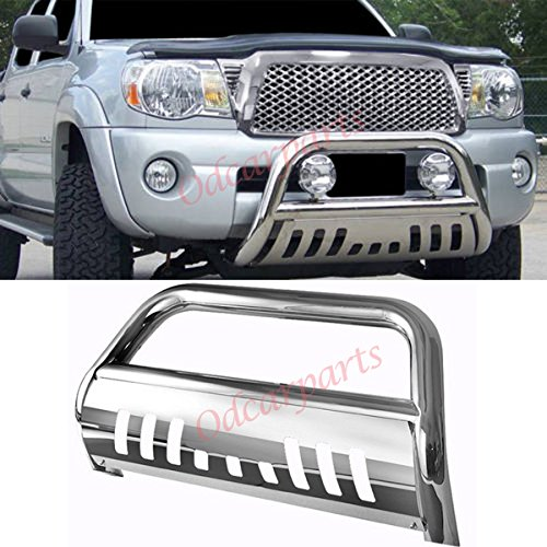 "VioGi Fit 05-15 Toyota Tacoma 3"" Tube S/S Bull Bar Brush Push Front Bumper Grille Guard"