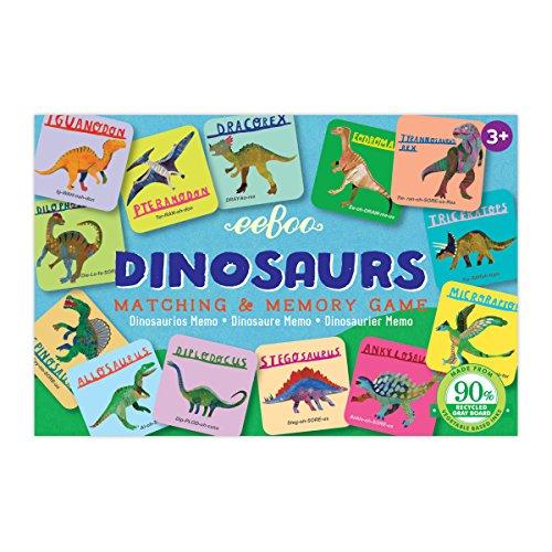 EEBOO Dinosaurs Little Matching Game, 1 EA